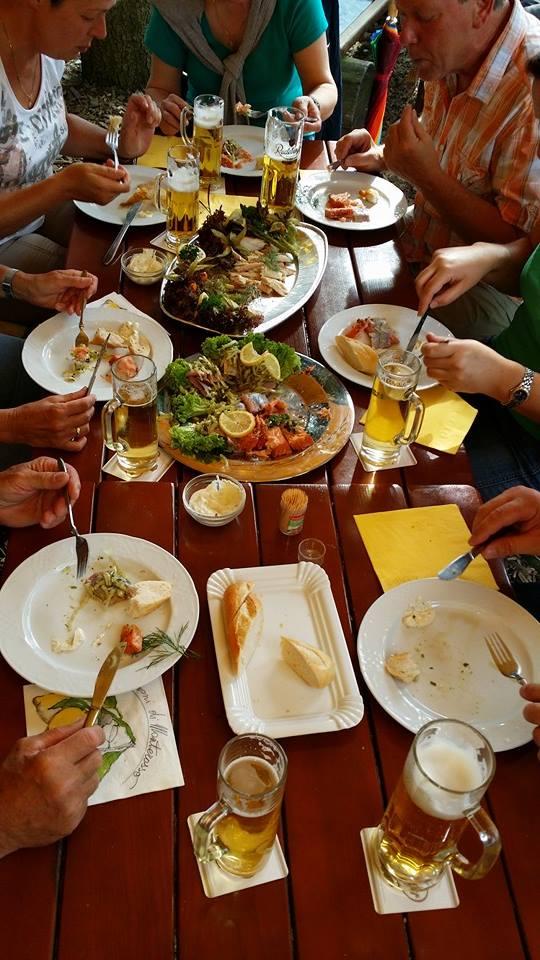 Fischplatten für Feiern