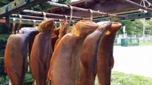 Räucherfisch und Fischplatten