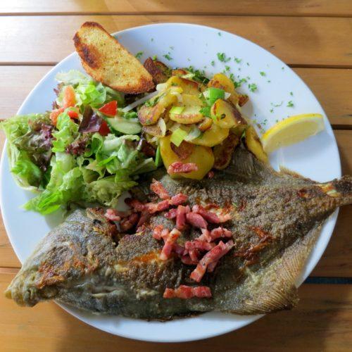 Maischolle, einmal in der Woche Fisch, Fischexpress